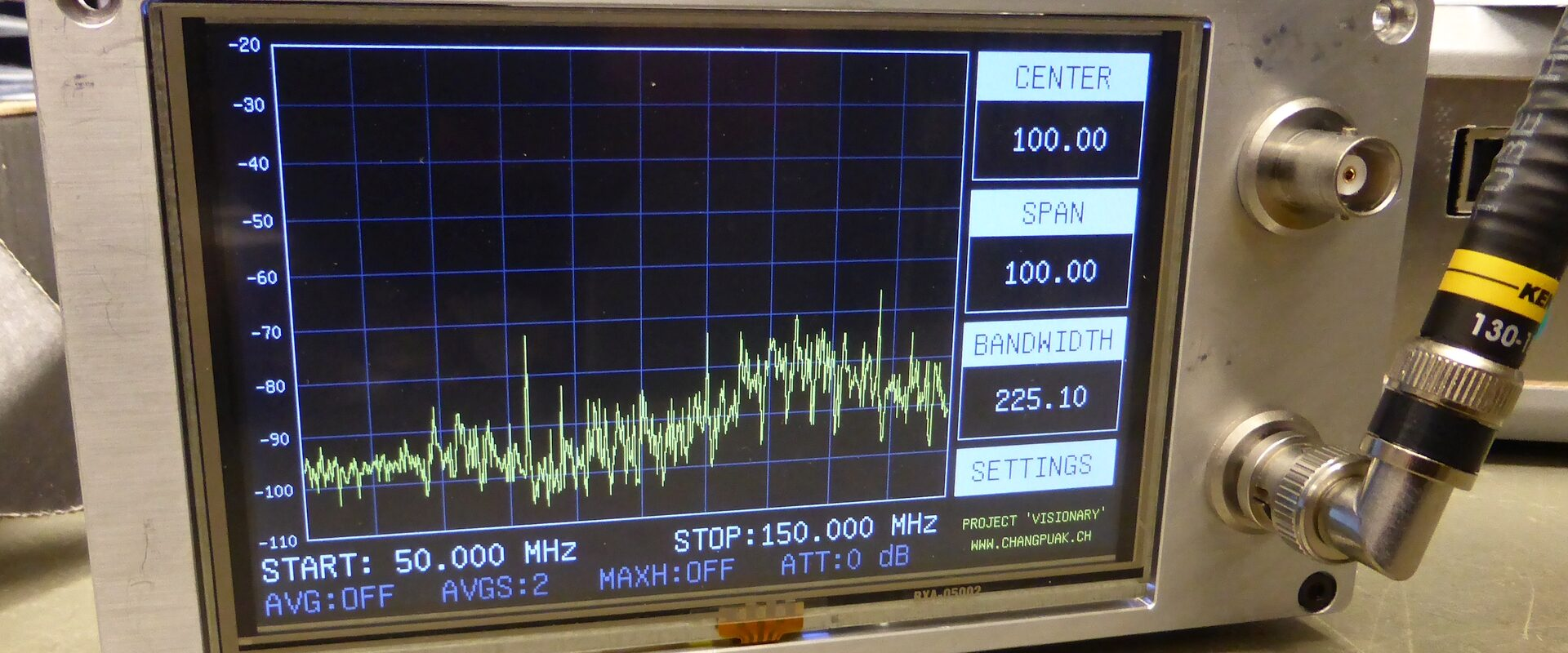 Permalink to: Radio Frequency Scans